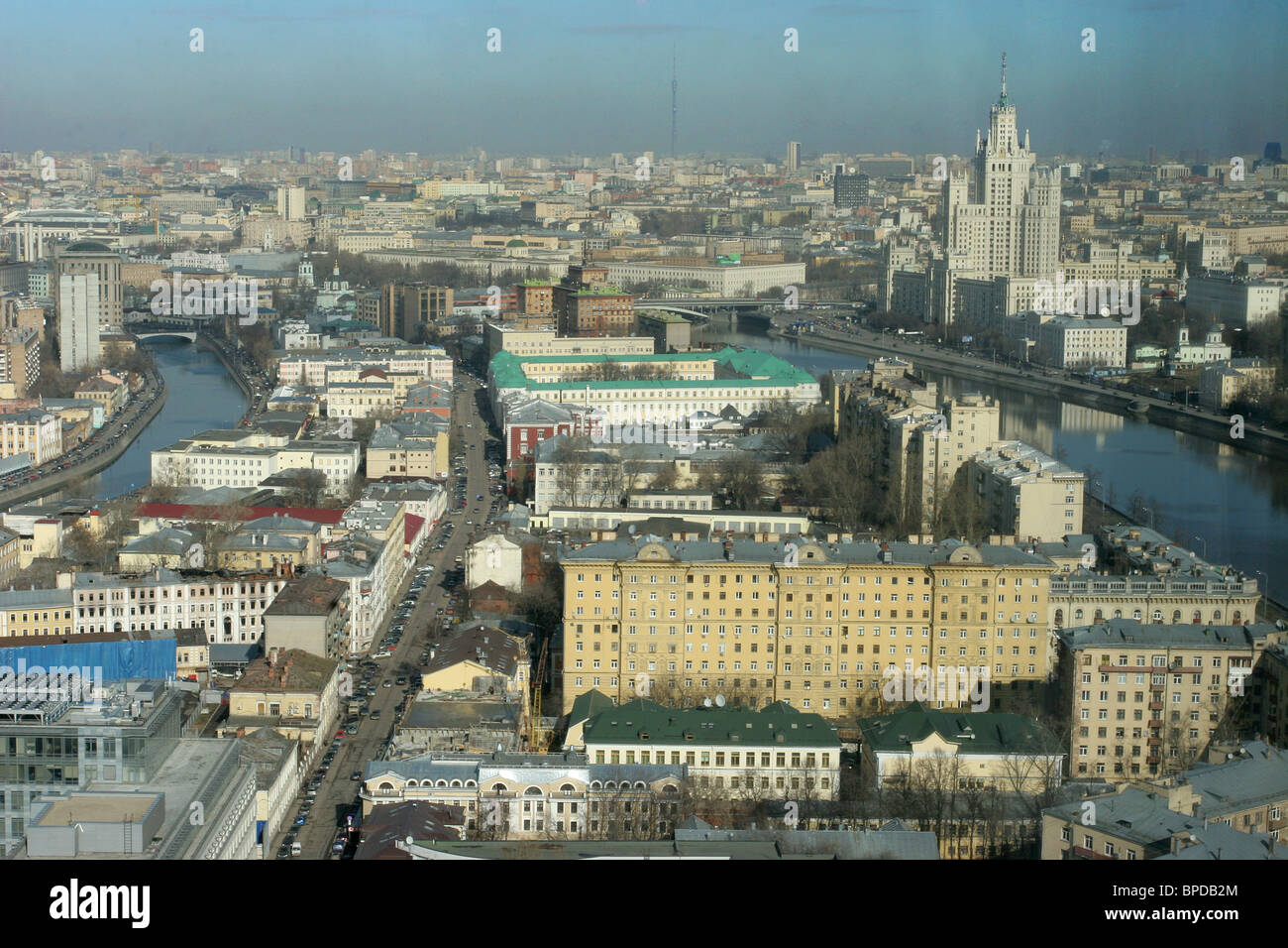 Moscow in pictures - Stock Image