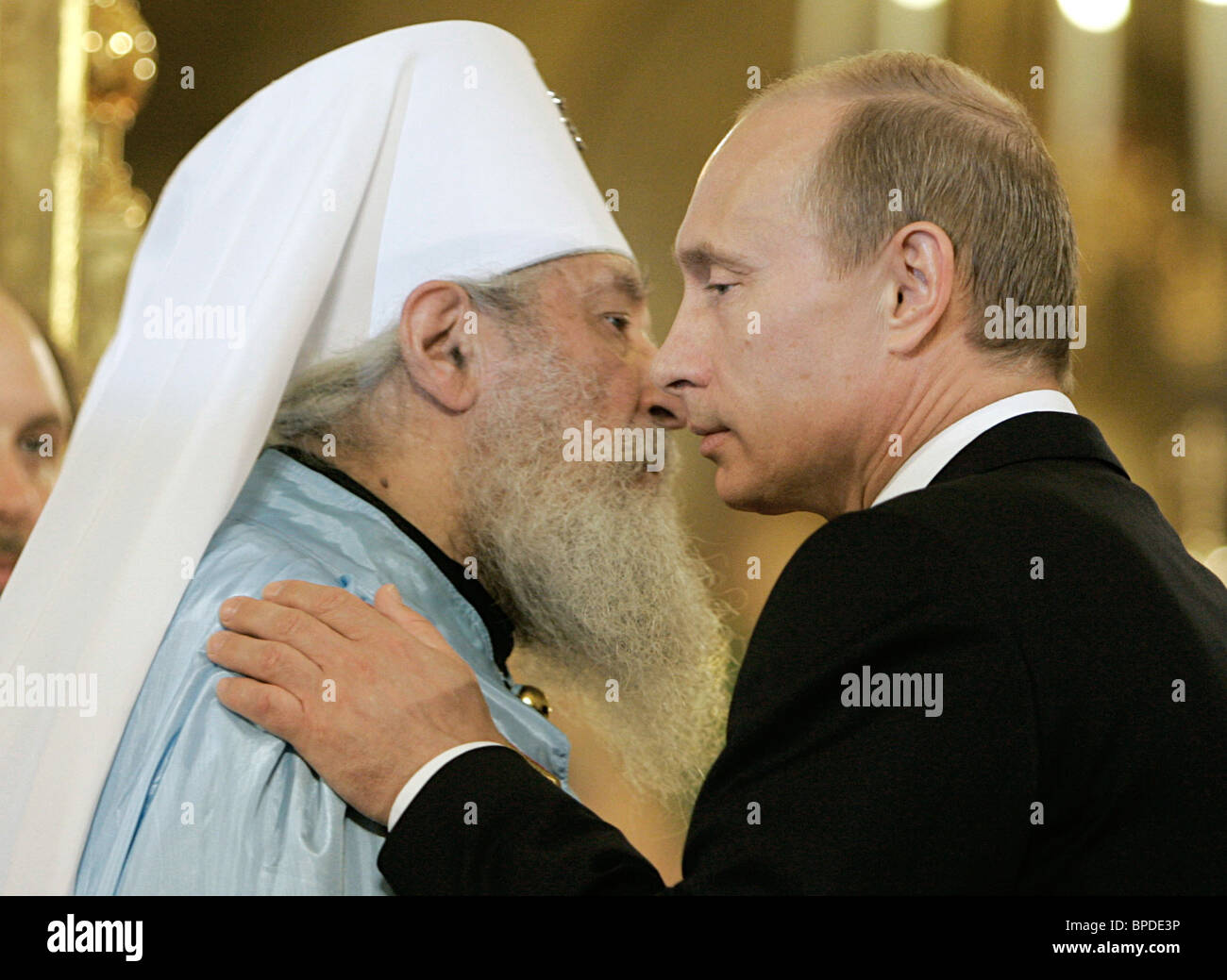 Canonical Communion Act signed in Moscow - Stock Image
