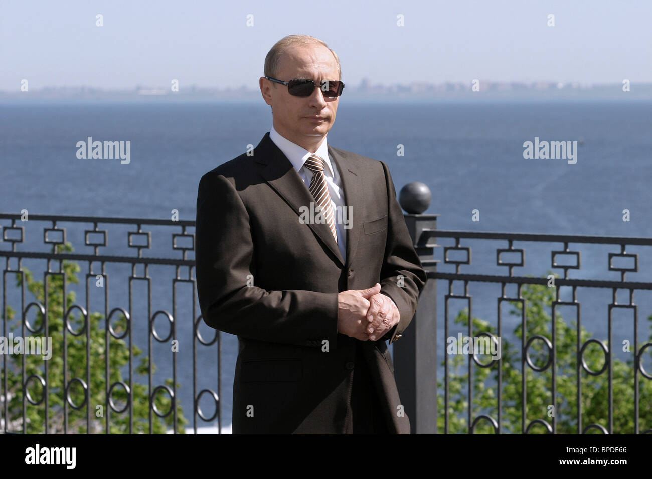 Russia-EU summit in Samara Region - Stock Image