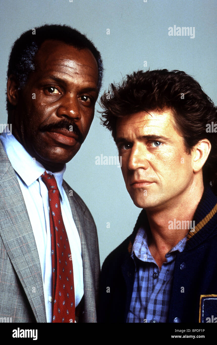 danny glover amp mel gibson lethal weapon 2 1989 stock