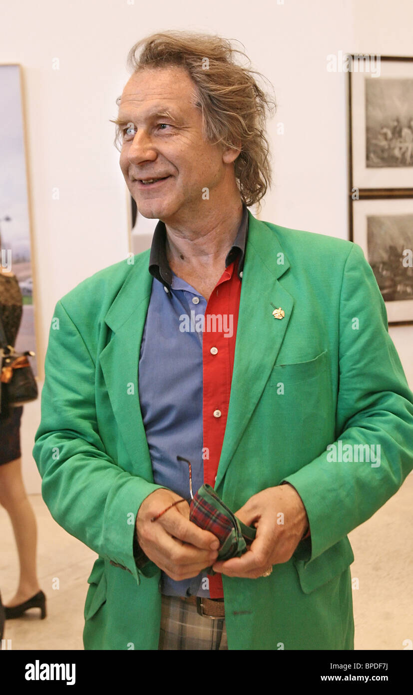 Exhibition marking 250th anniversary of Russian Academy of Arts opens in Moscow - Stock Image