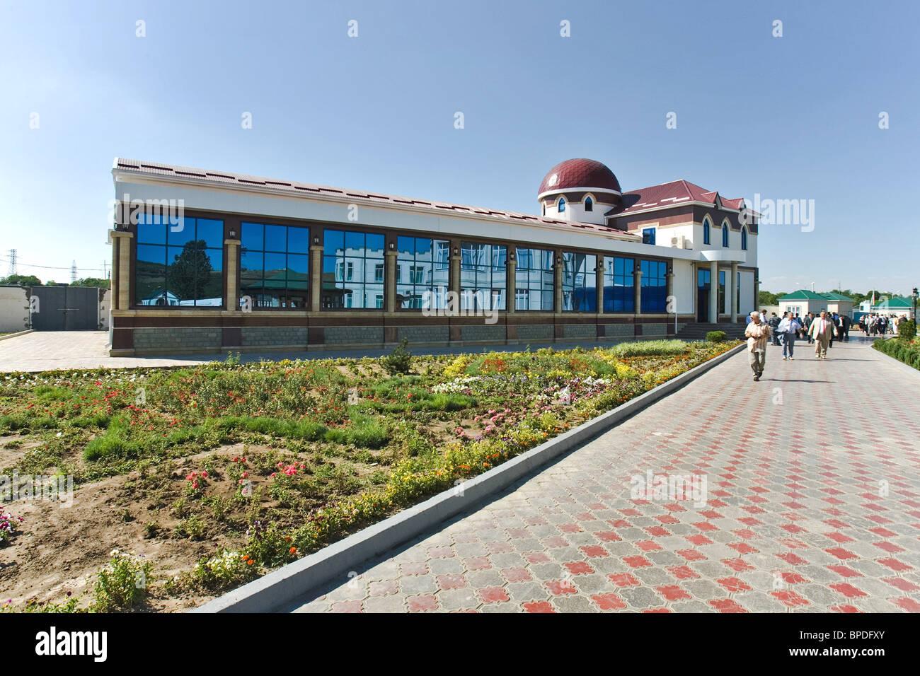 Residence of Chechen President Ramzan Kadyrov - Stock Image