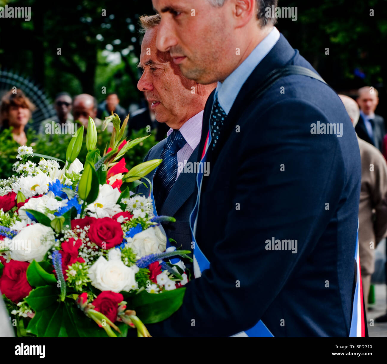 Paris France The City Celebrates 66th Anniversary Of Its Liberation WWII Holocaust