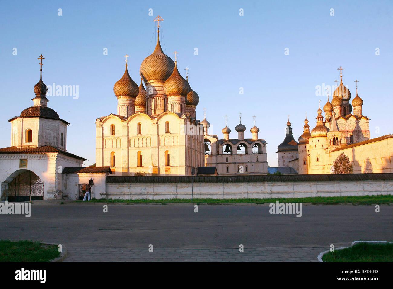 Rostov Kremlin: description, history. State Museum-Reserve Rostov Kremlin 66