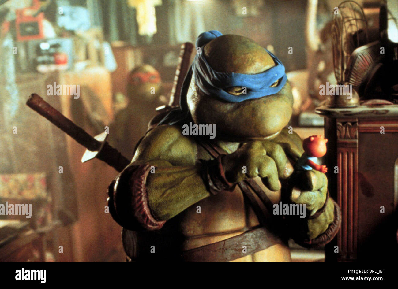 NINJA TURTLE TEENAGE MUTANT NINJA TURTLES (1990) - Stock Image