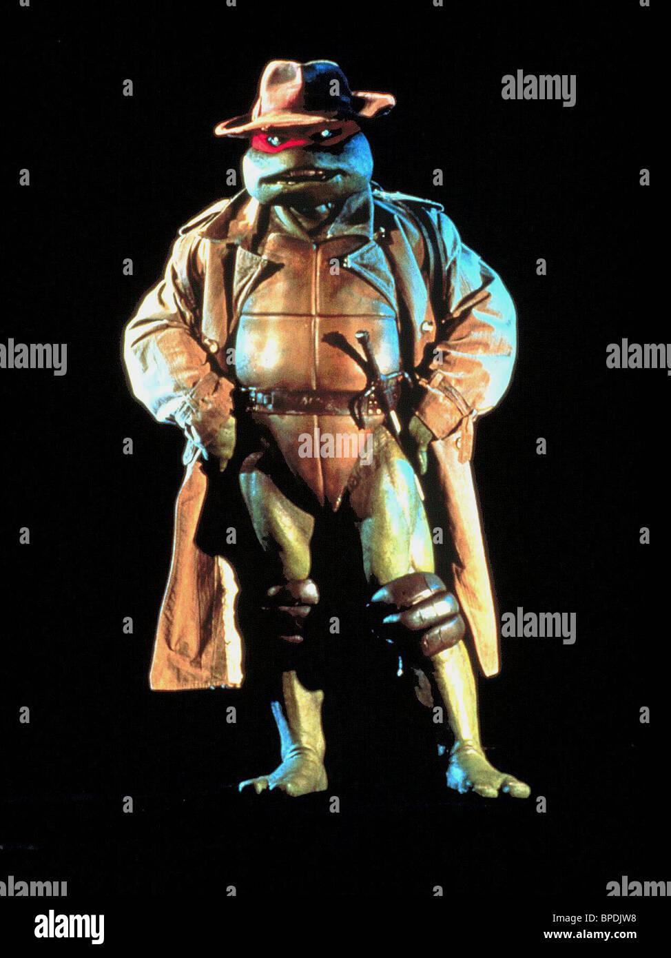 RAPHAEL TEENAGE MUTANT NINJA TURTLES (1990) - Stock Image