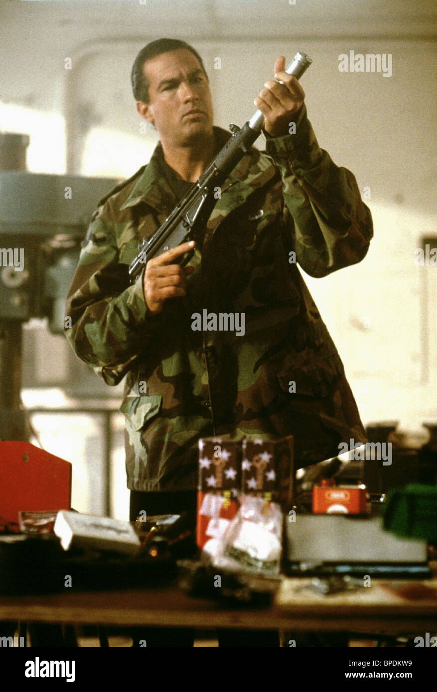 STEVEN SEAGAL MARKED FOR DEATH (1990) - Stock Image