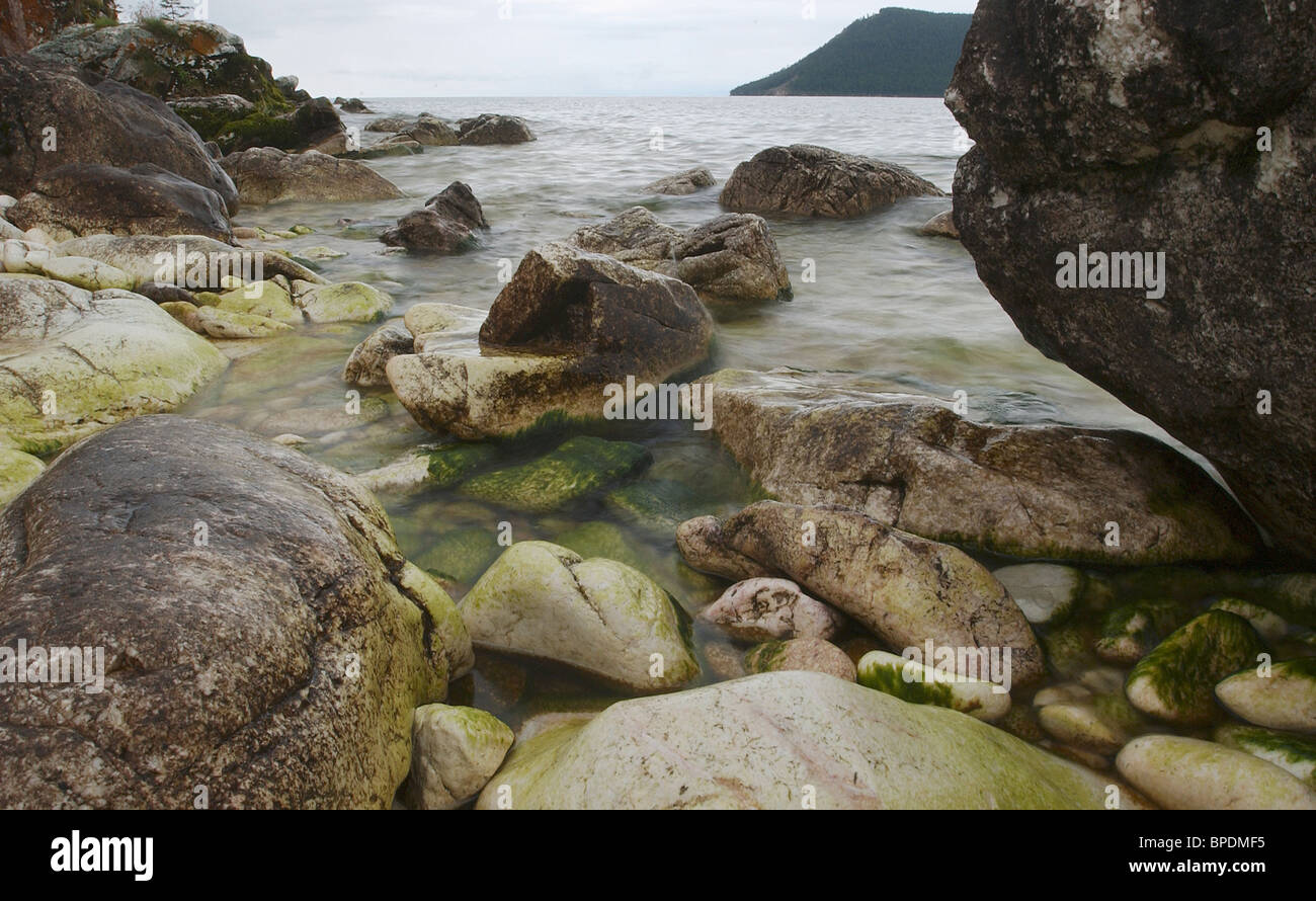 Pictures of Lake Baikal - Stock Image