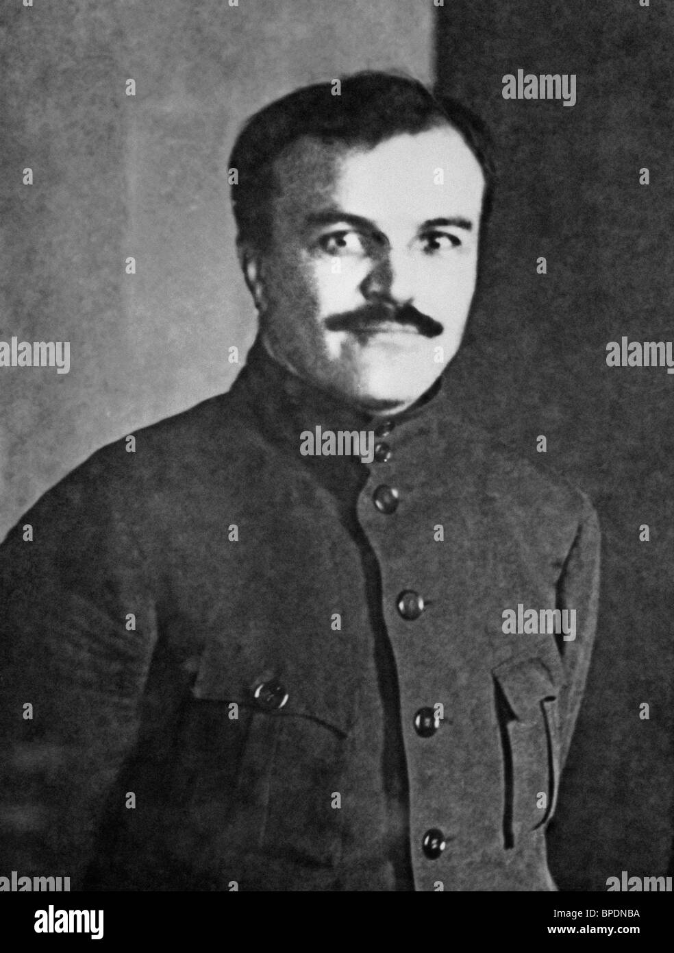 Soviet politician and diplomat Vyacheslav Mikhailovich Molotov, 1925 Stock Photo