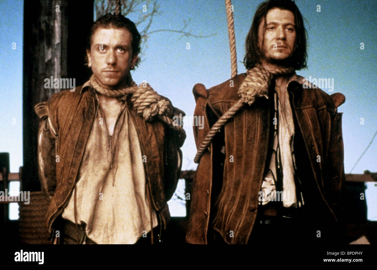 TIM ROTH, GARY OLDMAN, ROSENCRANTZ and GUILDENSTERN ARE DEAD, 1990 - Stock Image