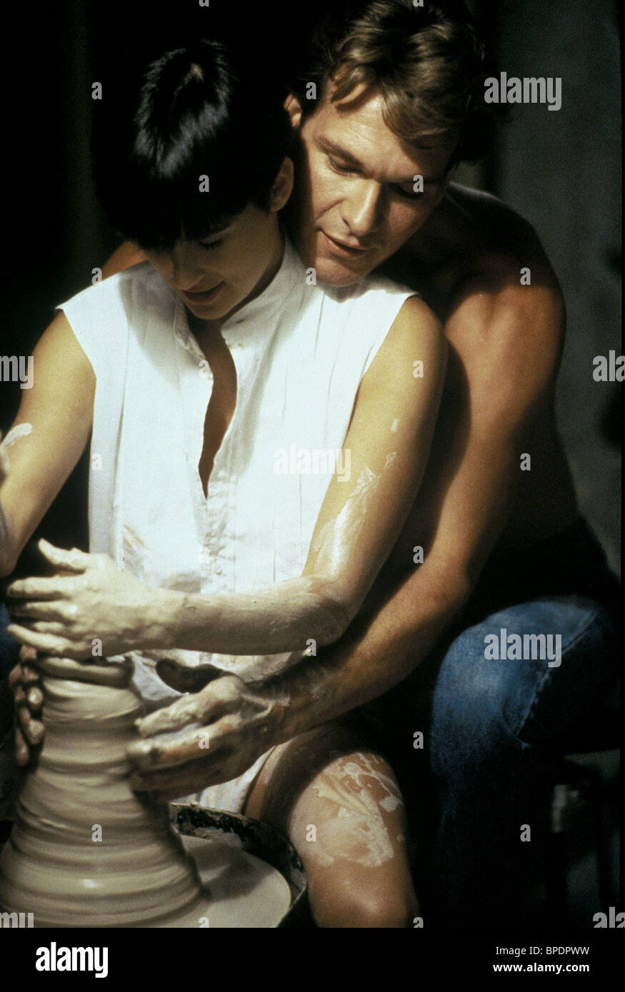 Demi Moore Patrick Swayze Ghost 1990 Stock Photo Alamy