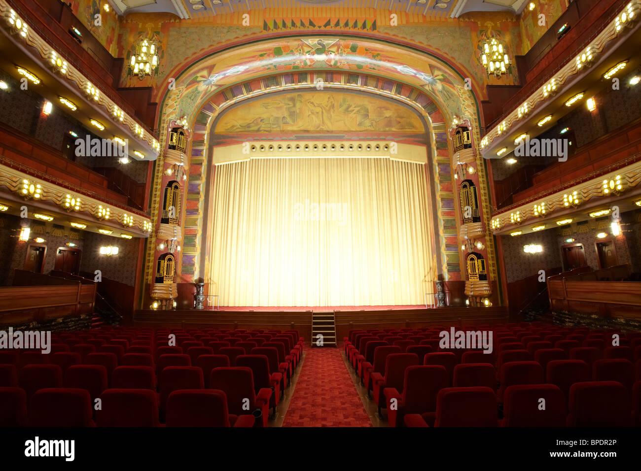 Tuschinski theatre/cinema in Amsterdam - Stock Image