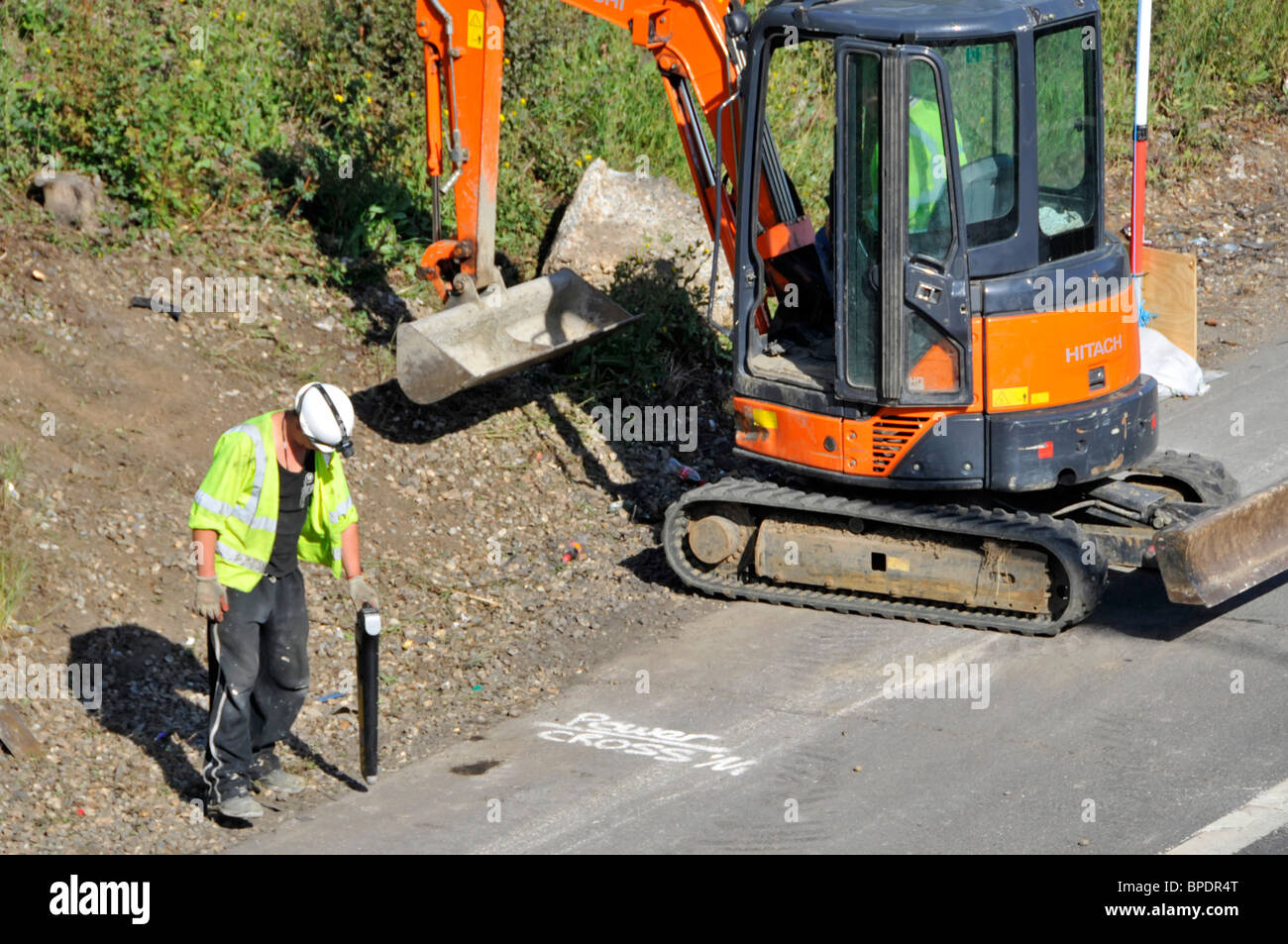 Buried Cable Stock Photos Amp Buried Cable Stock Images Alamy