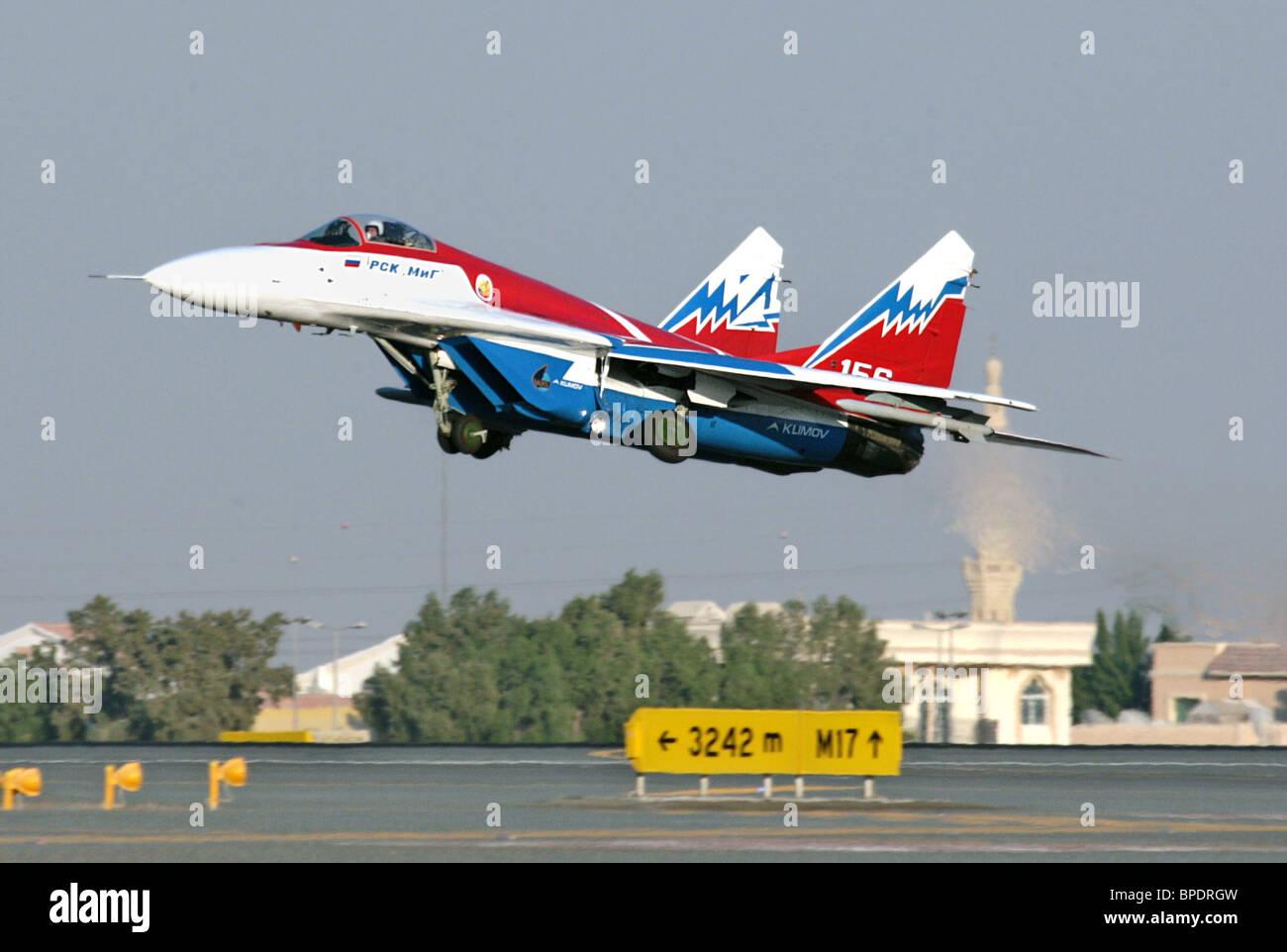 Dubai Air Show 2007 - Stock Image