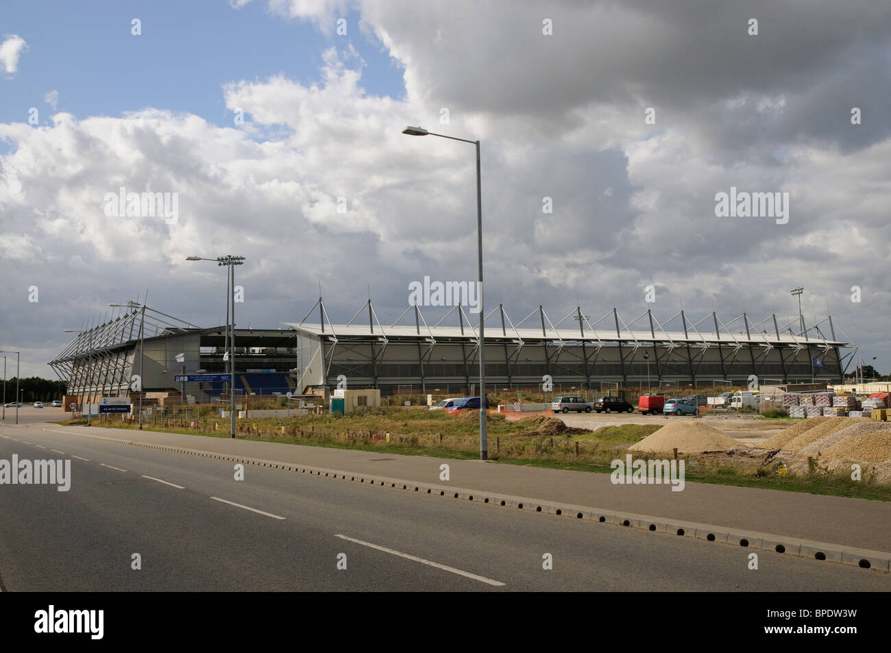 Weston Homes Community Stadium in Colchester Essex England UK Home of Colchester United FC - Stock Image