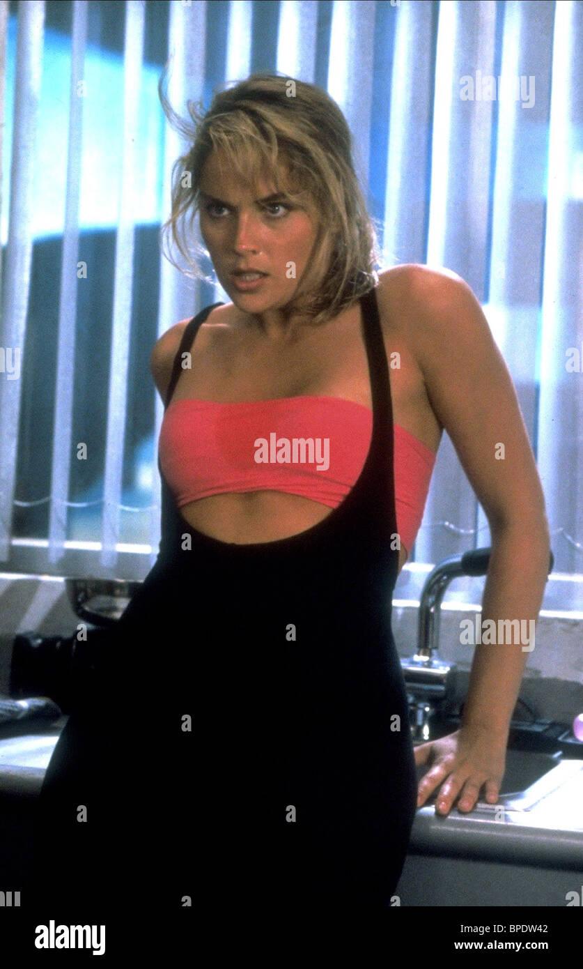 Sharon Stone Total Recall 1990 Stock Photo Alamy