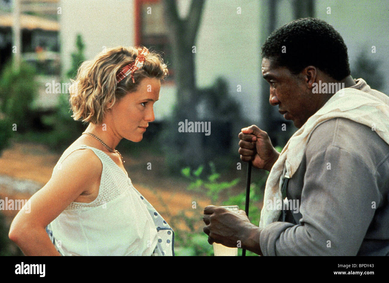 MARY STUART MASTERSON, STAN SHAW, FRIED GREEN TOMATOES AT THE WHISTLE STOP CAFE, 1991 - Stock Image