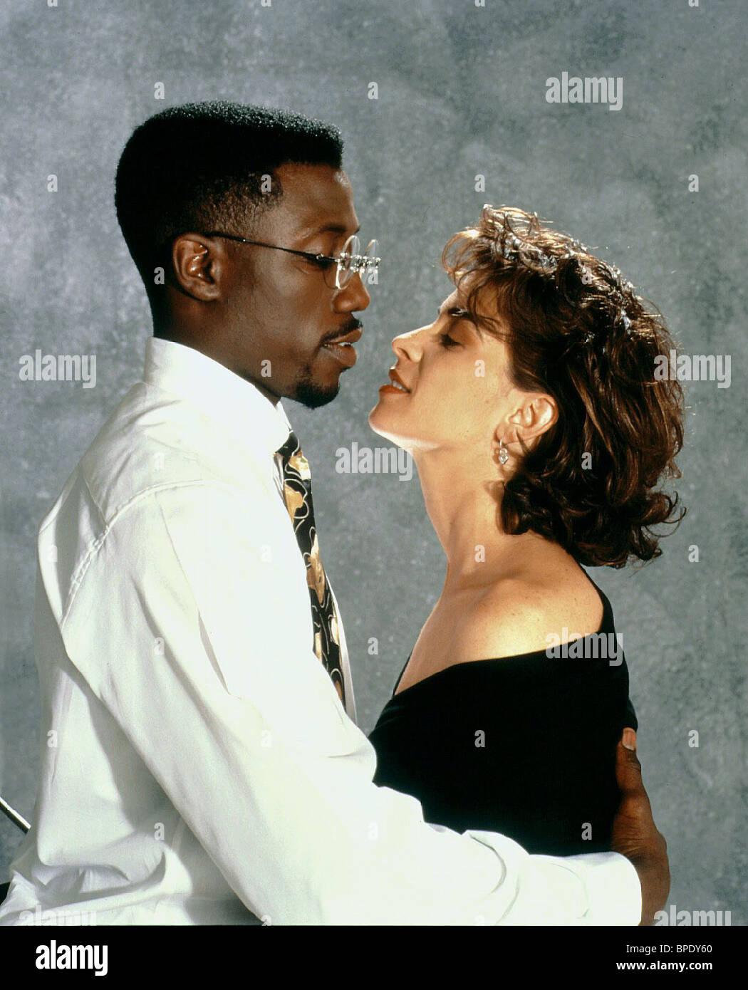 WESLEY SNIPES, ANNABELLA SCIORRA, JUNGLE FEVER, 1991 Stock Photo