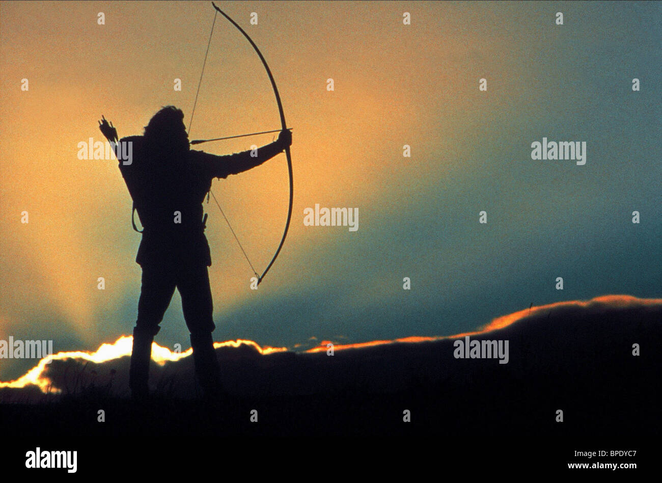 KEVIN COSTNER ROBIN HOOD: PRINCE OF THIEVES (1991) - Stock Image