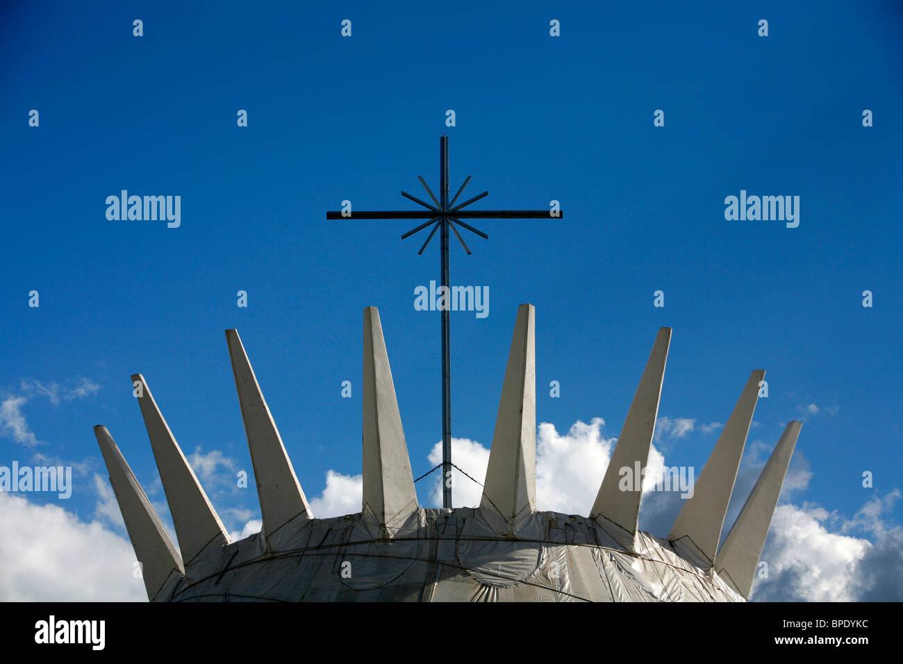 Catedral metropolitana, Brasilia, Brazil. - Stock Image