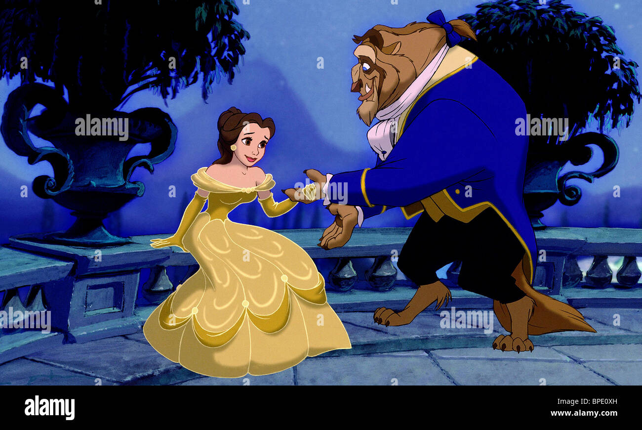 Belle Beast Beauty And The Beast 1991 Stock Photo Alamy