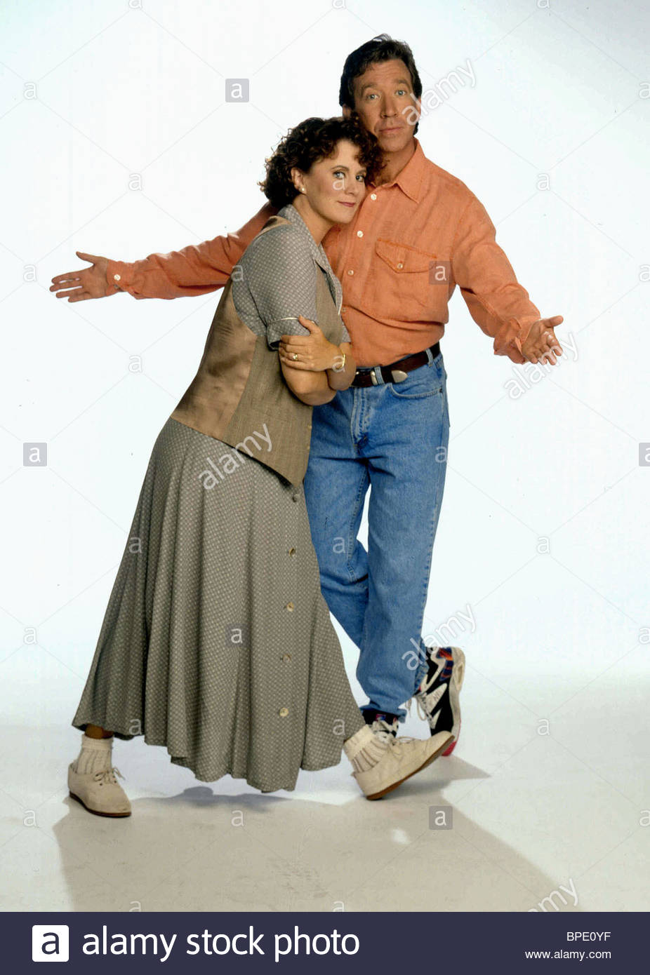 patricia-richardson-tim-allen-home-improvement-1991-BPE0YF.jpg