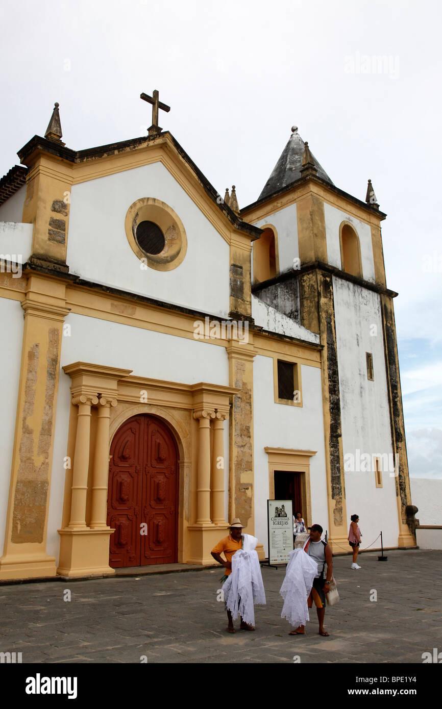 Igreja da Se or Se Cathedral, Olinda, Pernambuco, Brazil. Stock Photo