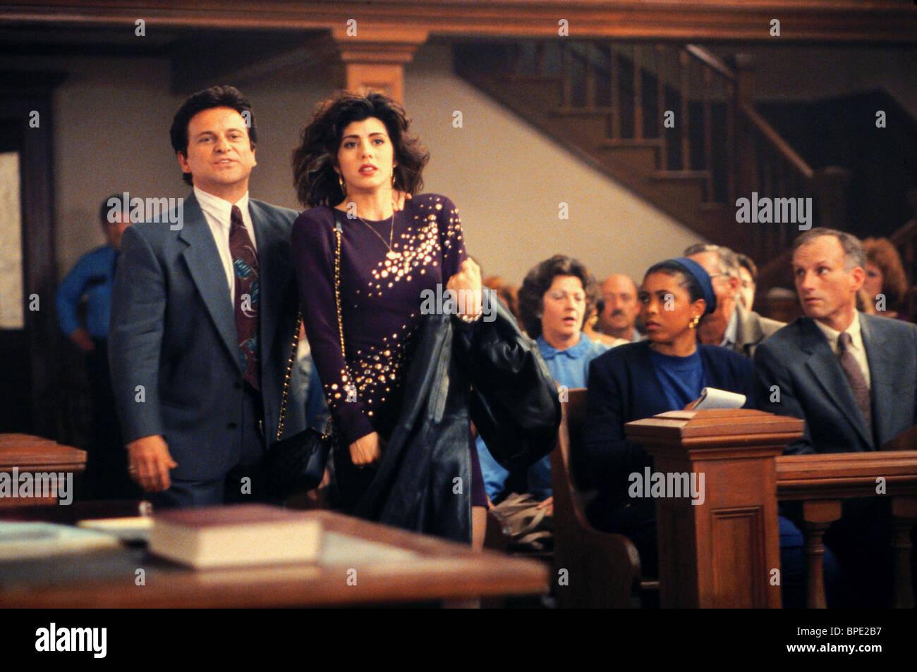 JOE PESCI, MARISA TOMEI, MY COUSIN VINNY, 1992 - Stock Image