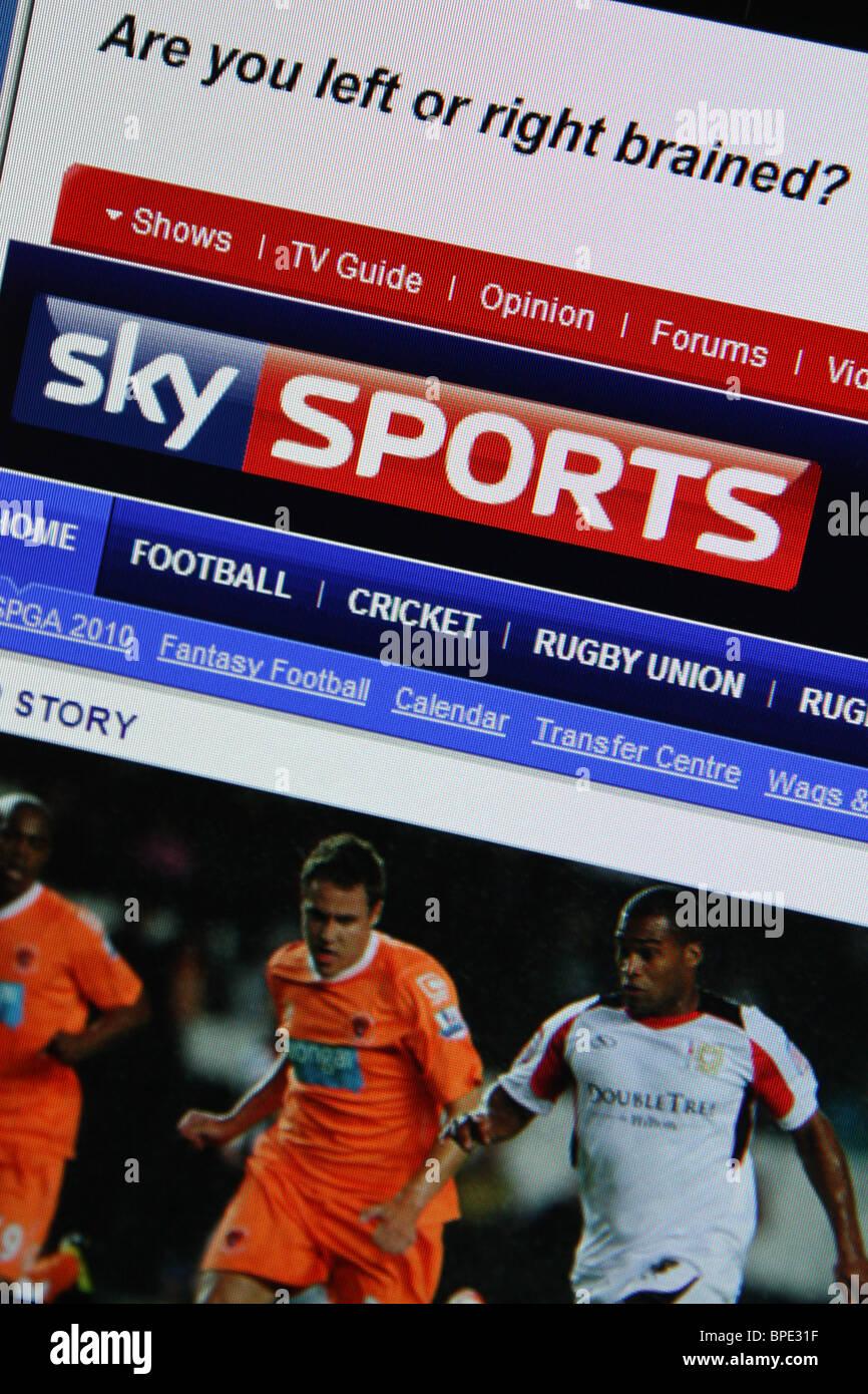 Sky Sports Stock Photos & Sky Sports Stock Images - Alamy