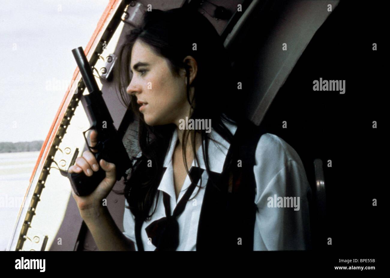 ELIZABETH HURLEY PASSENGER 57 (1992) - Stock Image