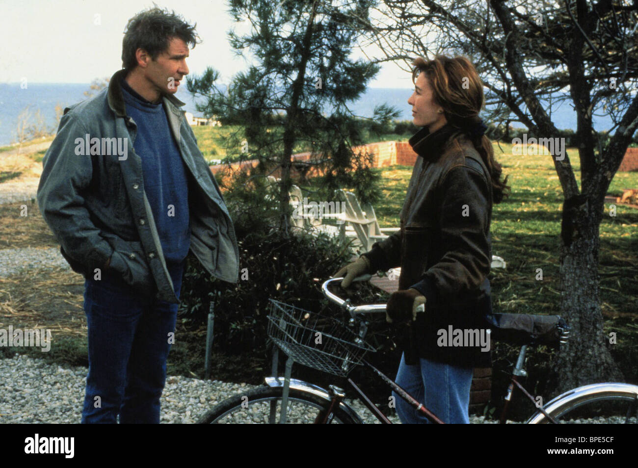 Harrison Ford Anne Archer Patriot Games 1992 Stock Photo Alamy