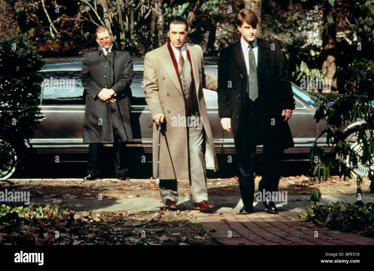 Al Pacino Chris O Donnell Scent Of A Woman 1992 Stock Photo Alamy