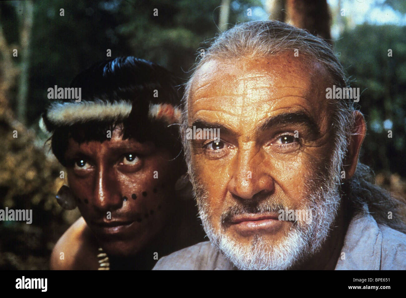 SEAN CONNERY MEDICINE MAN (1992) - Stock Image