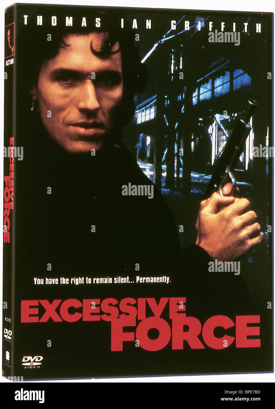 THOMAS IAN GRIFFITH EXCESSIVE FORCE (1993) - Stock Image