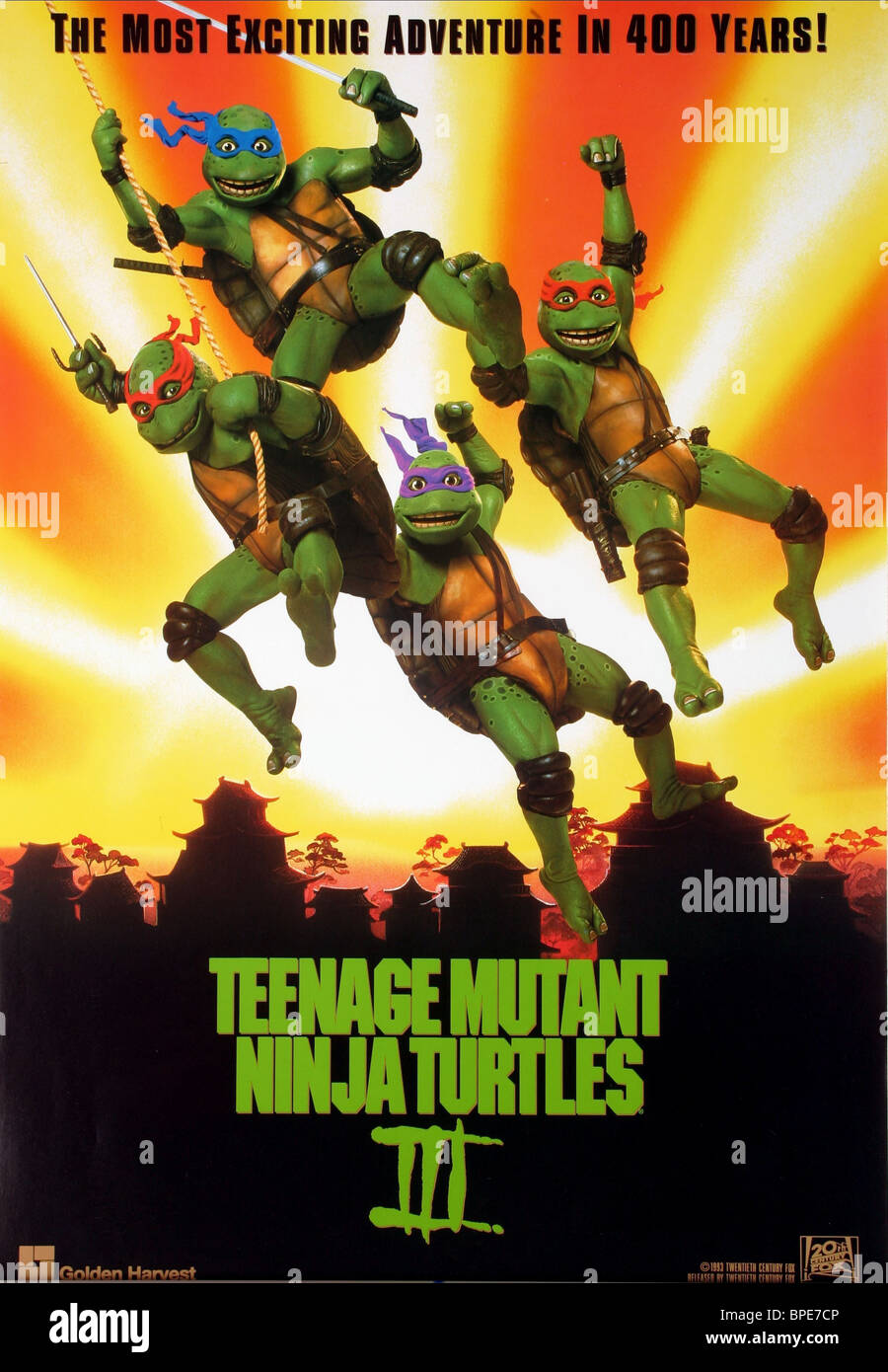 Raphael Leonardo Michelangelo Donatello Poster Teenage Mutant Stock Photo Alamy
