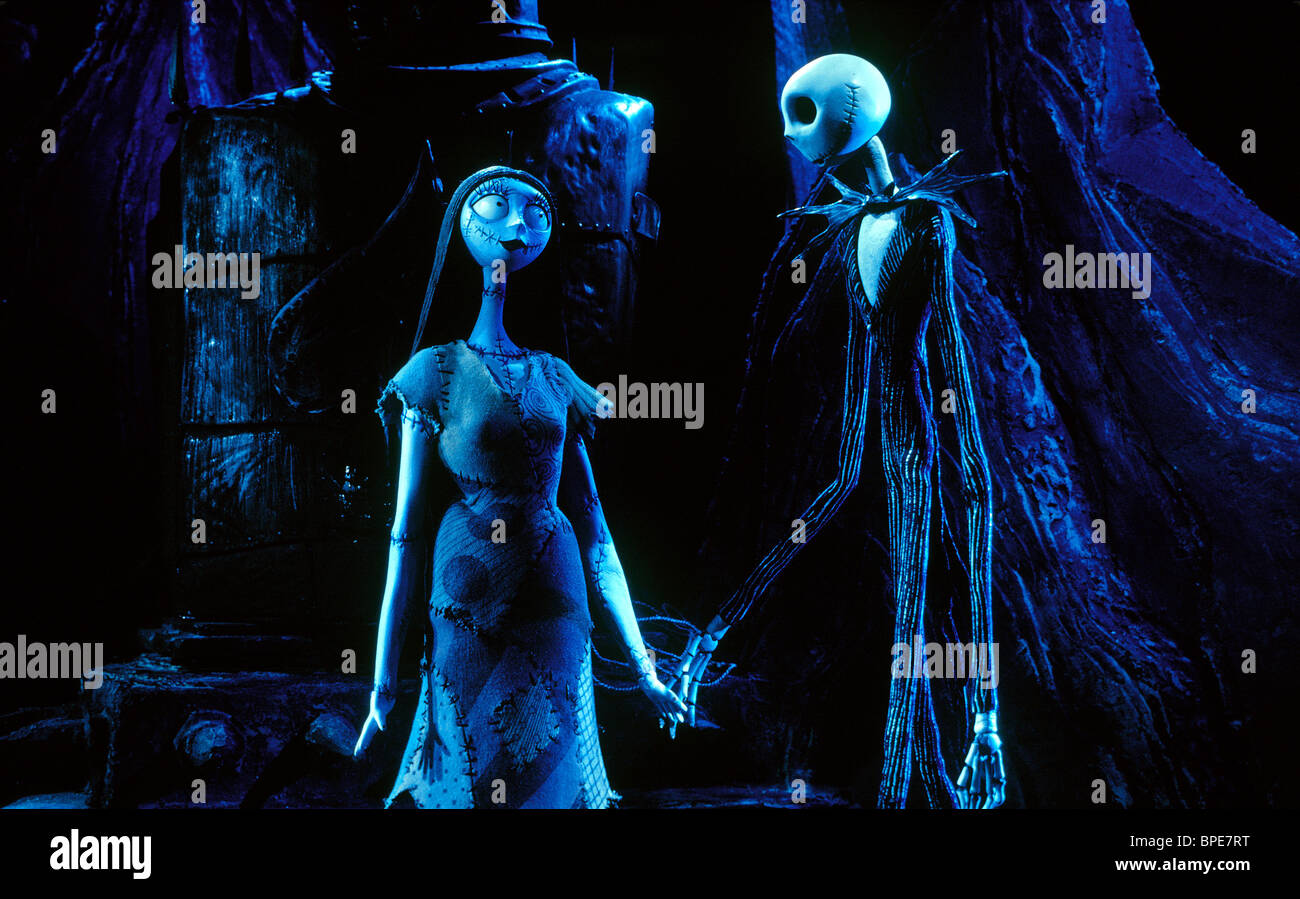 SALLY SHOCK & JACK SKELLINGTON THE NIGHTMARE BEFORE CHRISTMAS (1993 ...