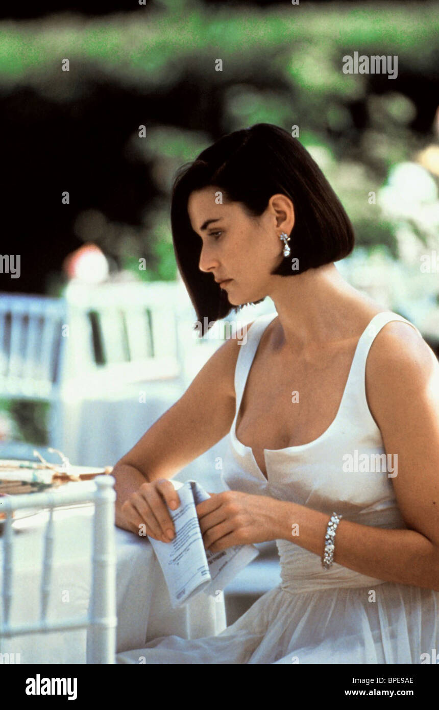 DEMI MOORE INDECENT PROPOSAL (1993) Stock Photo