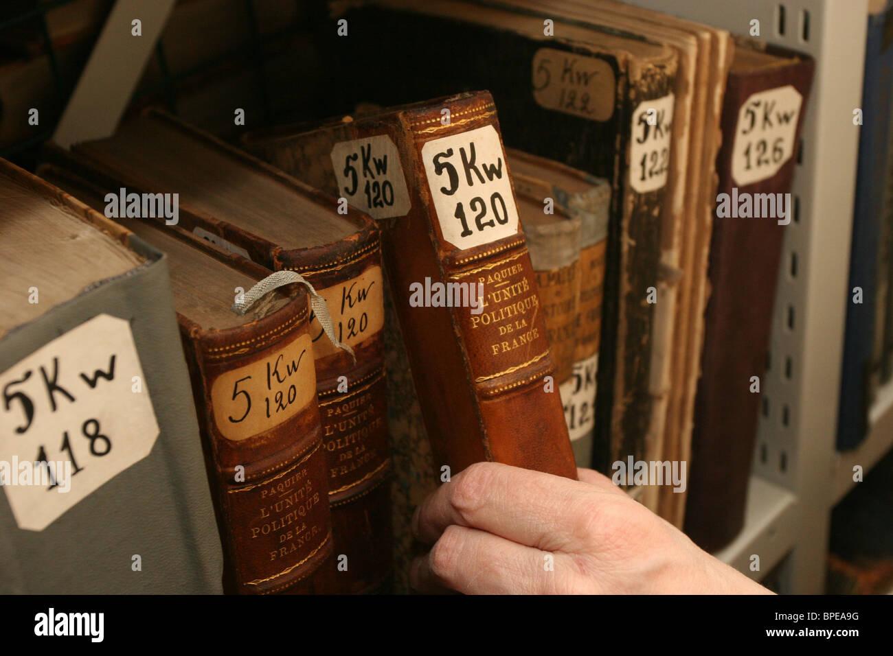 MSU fundamental library - Stock Image
