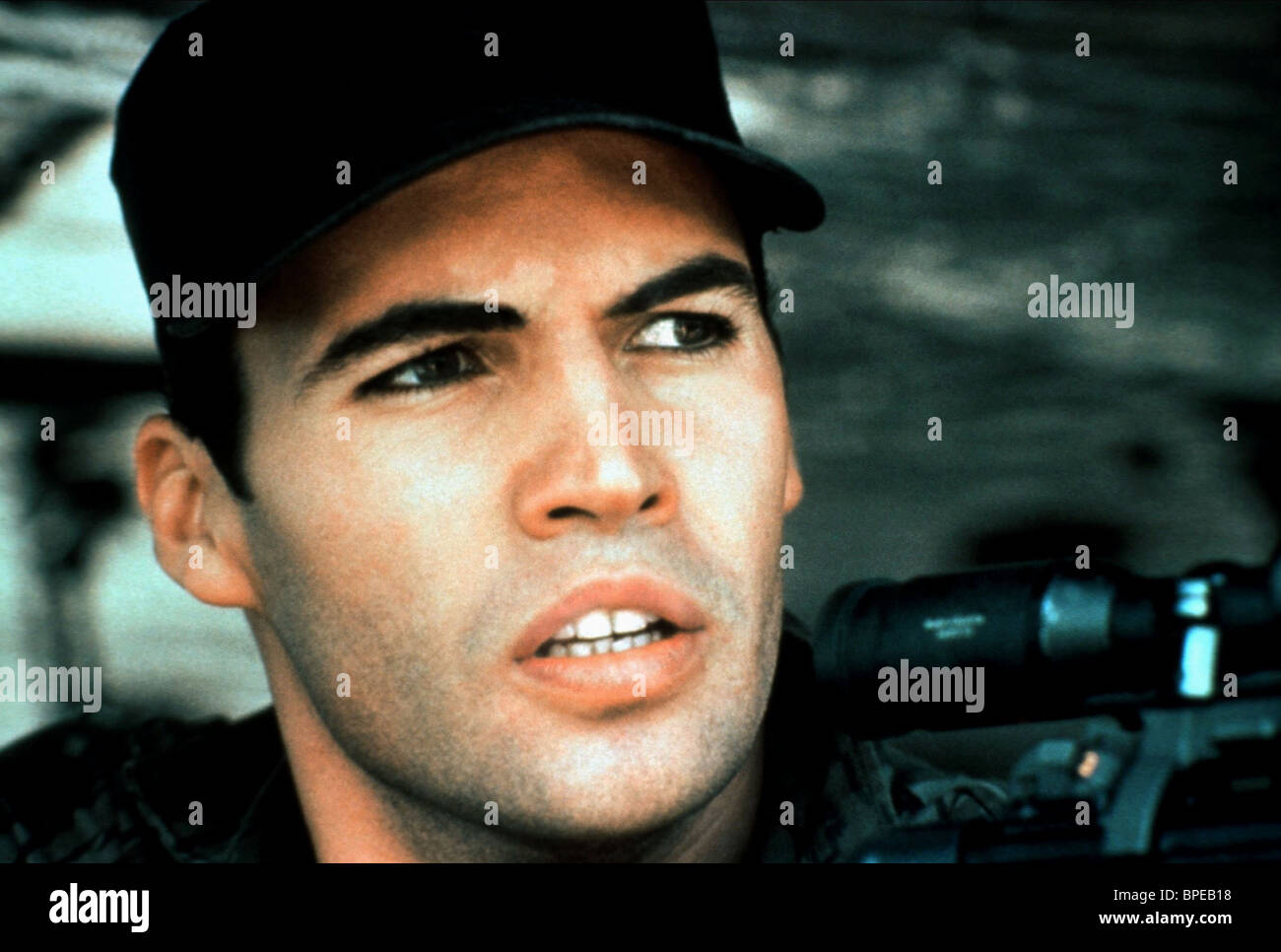 BILLY ZANE SNIPER (1993) - Stock Image