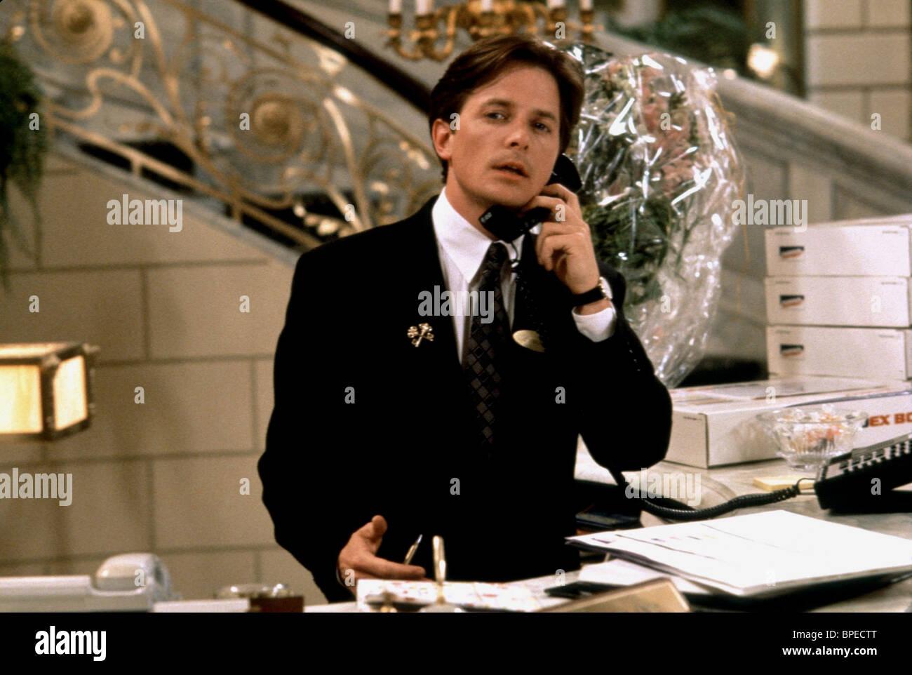 Michael J Fox The Concierge For Love Or Money 1993 Stock Photo Alamy