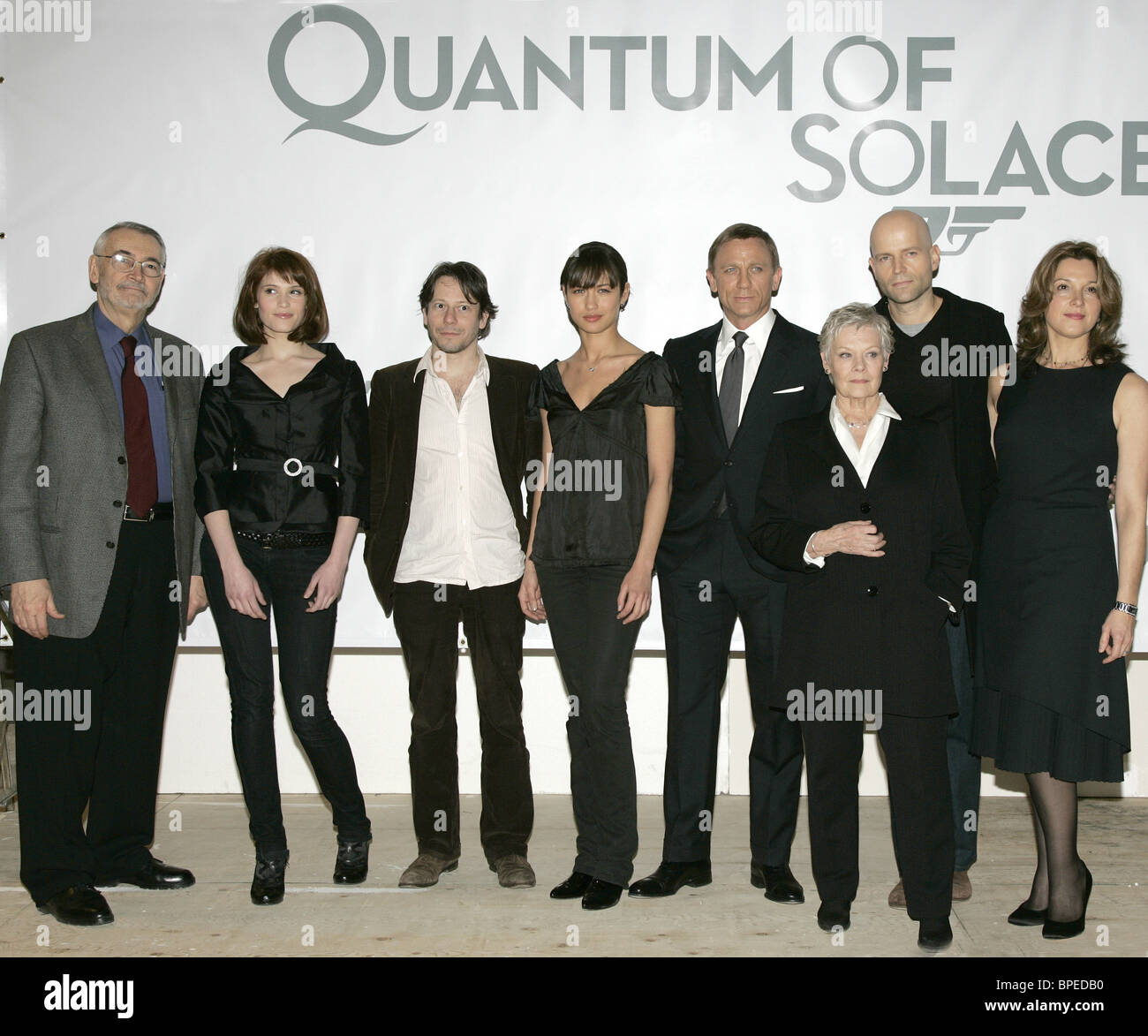Quantum of Solace to be released in 2008 - Stock Image