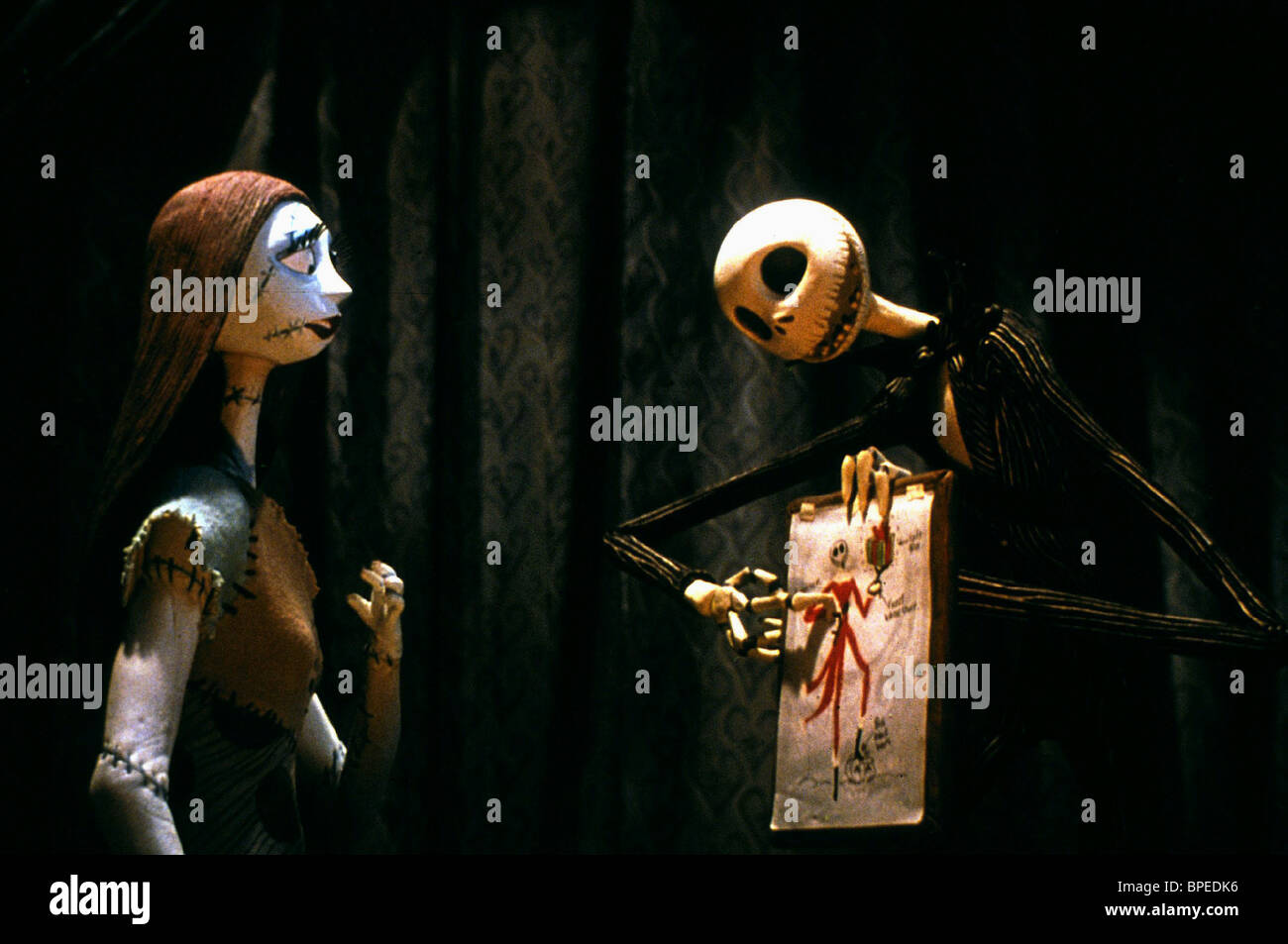 SALLY SHOCK & JACK SKELLINGTON THE NIGHTMARE BEFORE CHRISTMAS (1993 ...