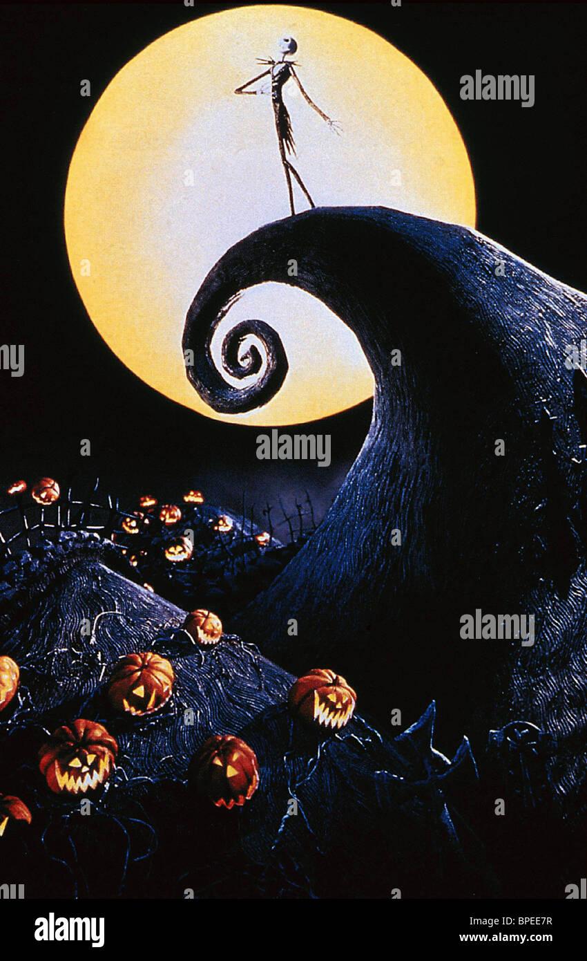 JACK SKELLINGTON THE NIGHTMARE BEFORE CHRISTMAS (1993 Stock Photo ...