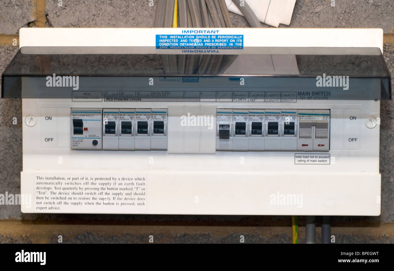 Fuse Box Household Stock Photos Images 1979 For A Home Image