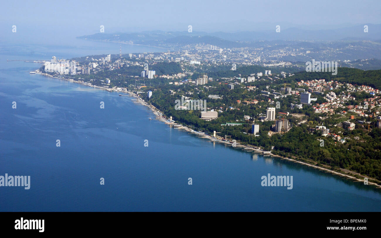 Sochi in pictures - Stock Image