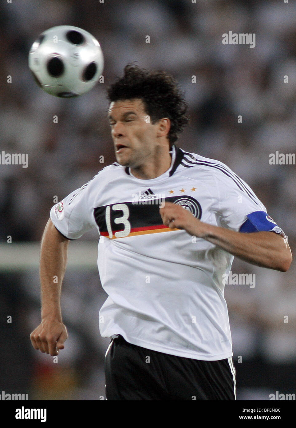 Germany beats co-hosts Austria 1-0 to book Euro 2008 quarterfinal against Portugal - Stock Image