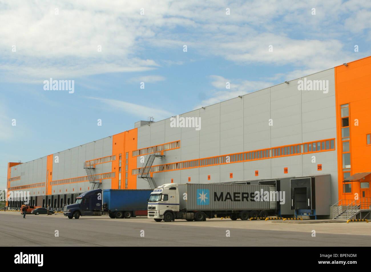 National Logistics Company Relogix's warehouse facility in Leningrad