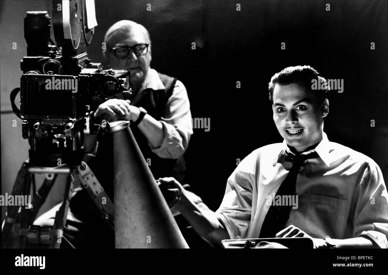 JOHNNY DEPP ED WOOD (1994) - Stock Image