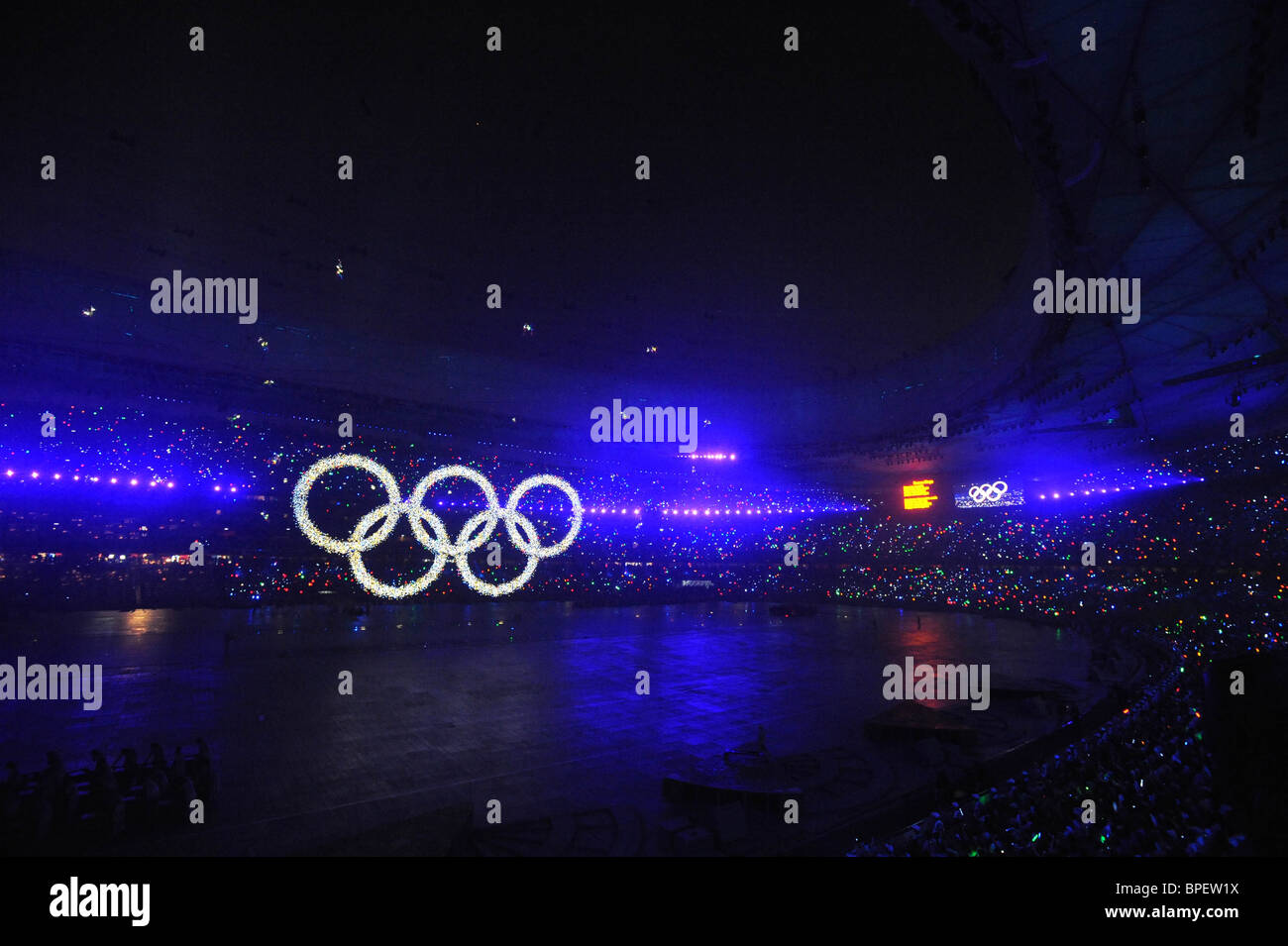 Beijing Olympic Games opening - Stock Image