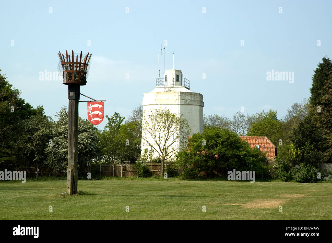 The Beacon at Langdon Hills Country Park near Basildon, Essex - Stock Image